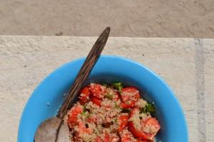 quinoa tomates