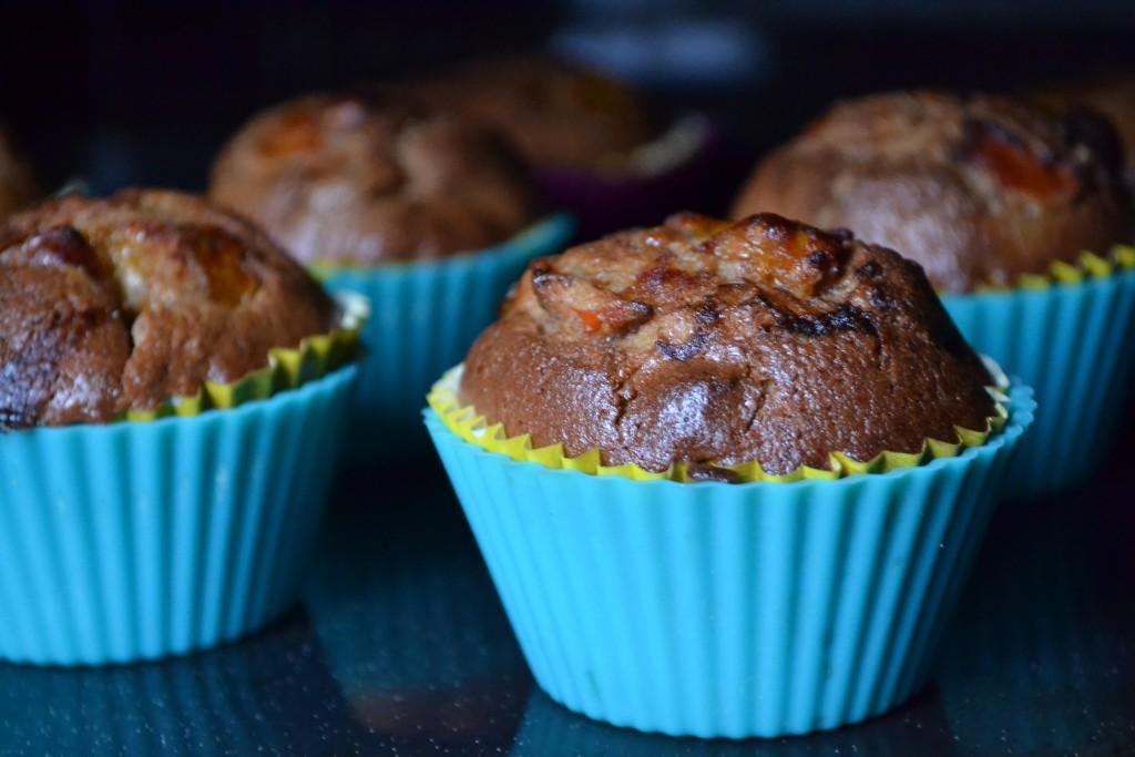 muffins kakis