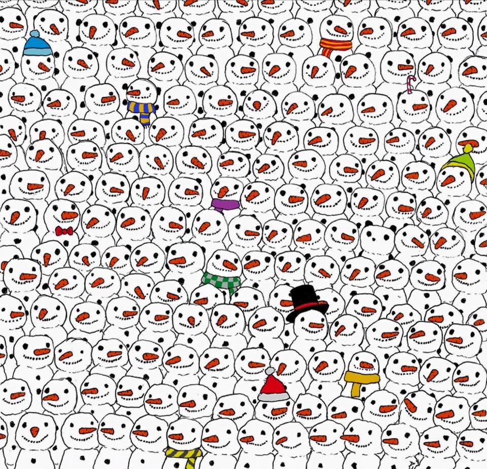 panda de noel