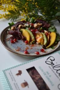 biltong salade exotique