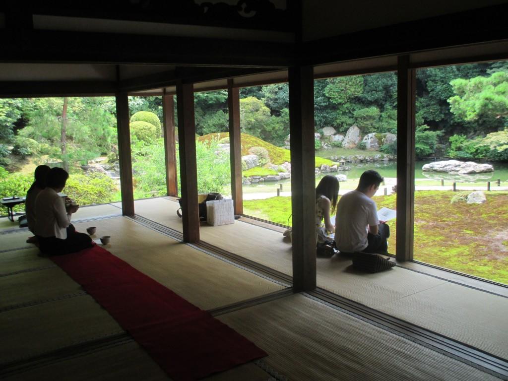 Kyoto cérémonie du thé