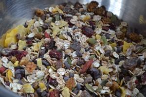 granola mélange