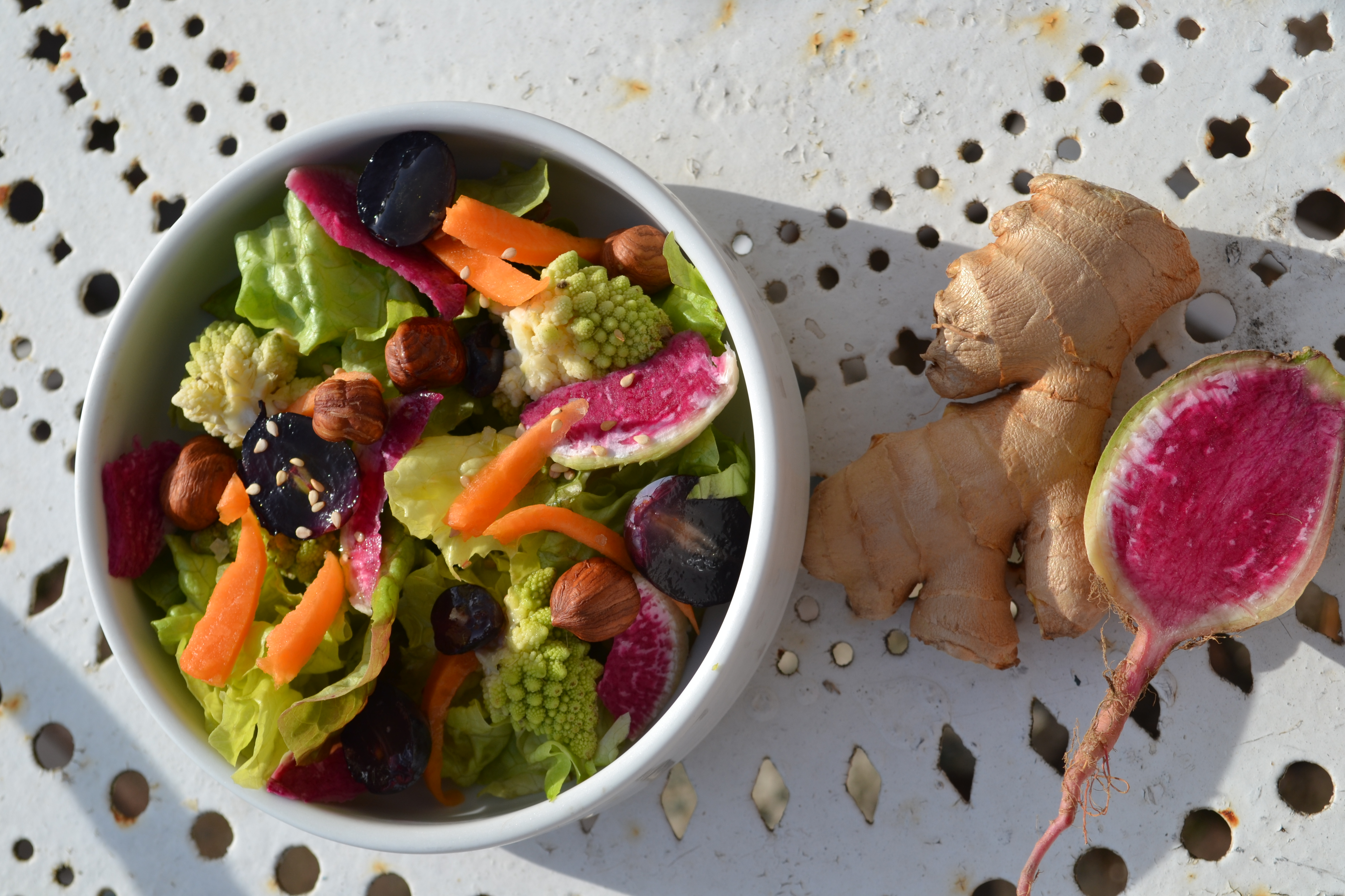 salade gingembre