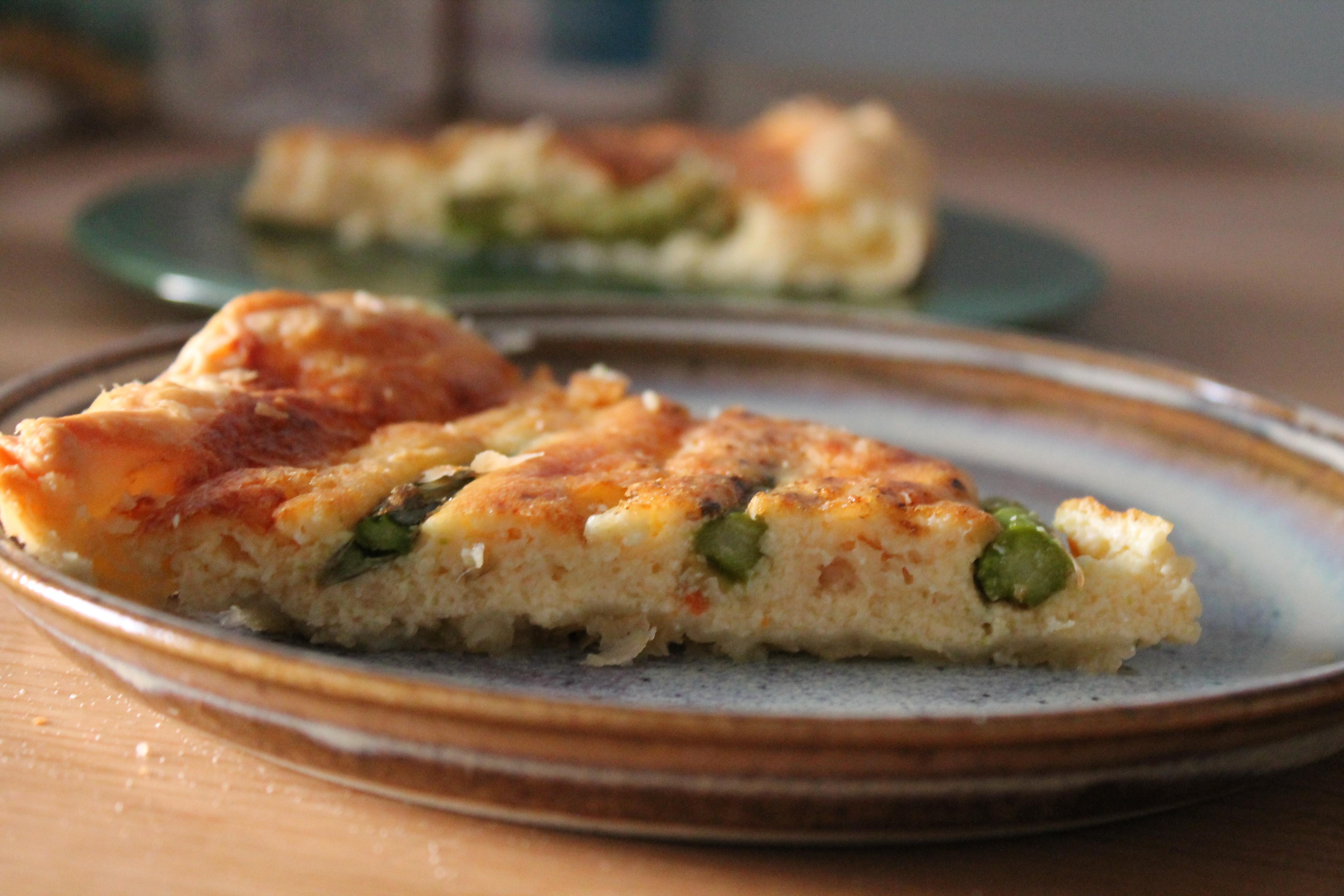 tarte aux noix de saint jacques et asperges vertes food fun foto. Black Bedroom Furniture Sets. Home Design Ideas